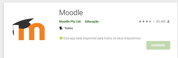 moodle na app store