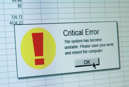 software crash