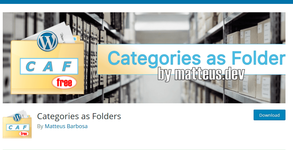 Plugin WordPress Categories as Folders